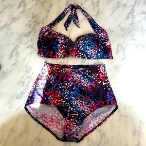 Size 18 Highwaisted Bikini
